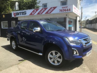 Isuzu D-Max 1.9 Yukon Double Cab 4x4 Pick Up Diesel Sapphire Blue Met at Isuzu Used Vehicle Locator Aylesbury