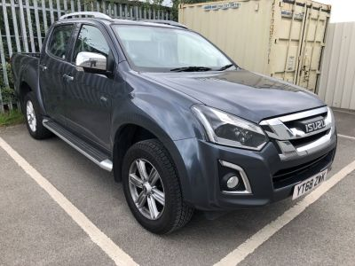 Isuzu D-Max 1.9 Utah Double Cab 4x4 Auto Pick Up Diesel GREY at Isuzu Used Vehicle Locator Leeds